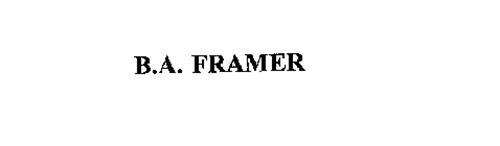 B.A. FRAMER