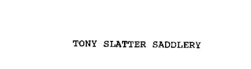 TONY SLATTER SADDLERY