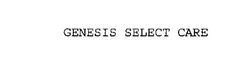 GENESIS SELECT CARE