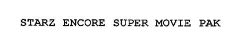 STARZ ENCORE SUPER MOVIE PAK