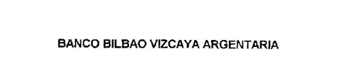 BANCO BILBAO VIZCAYA ARGENTARIA