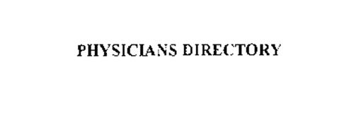 PHYSICIANS DIRECTORY