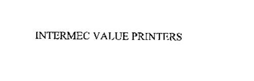 INTERMEC VALUE PRINTERS