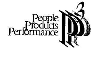 PEOPLE PRODUCTS PERFORMANCE P3