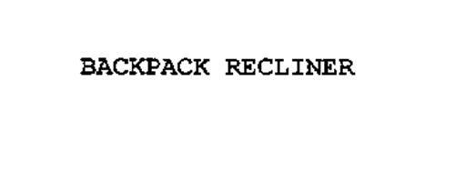 BACKPACK RECLINER