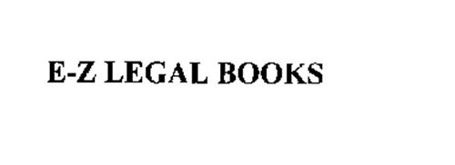 E-Z LEGAL BOOKS
