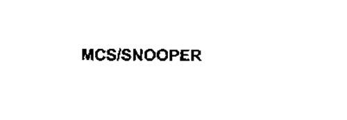 MCS/SNOOPER
