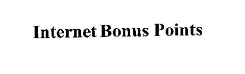 INTERNET BONUS POINTS