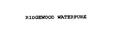 RIDGEWOOD WATERPURE