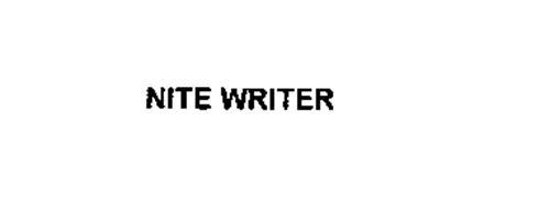 NITE WRITER