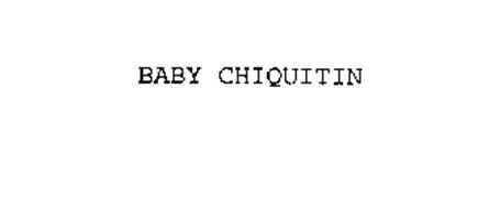 BABY CHIQUITIN
