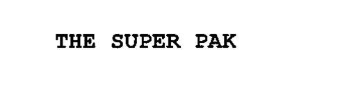 THE SUPER PAK