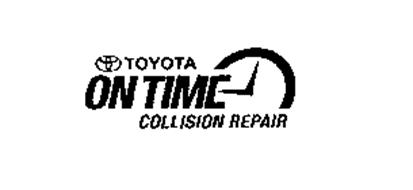 TOYOTA ON TIME COLLISION REPAIR