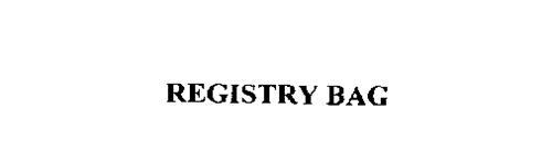 REGISTRY BAG