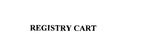 REGISTRY CART