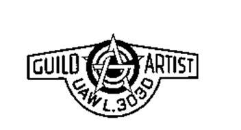 GAG GUILD ARTIST UAW L.3030