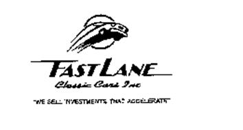 FAST LANE CLASSIC CARS WE SELL INVESTMENTS THAT ACCELERATE