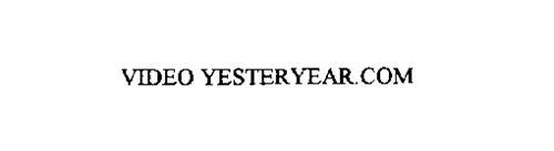VIDEO YESTERYEAR.COM