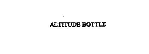 ALTITUDE BOTTLE