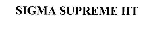 SIGMA SUPREME HT