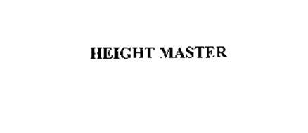 HEIGHT MASTER