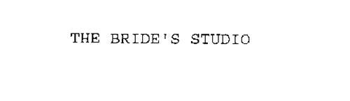 THE BRIDE'S STUDIO