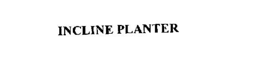 INCLINE PLANTER