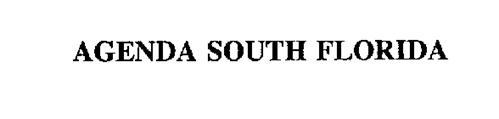 AGENDA SOUTH FLORIDA