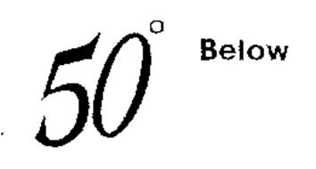 50 BELOW