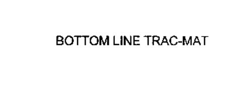 BOTTOM LINE TRAC-MAT