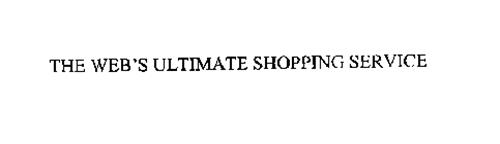 THE WEB'S ULTIMATE SHOPPING SERVICE