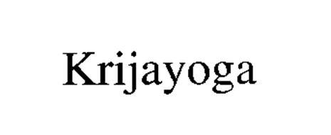 KRIJAYOGA