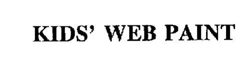 KIDS' WEB PAINT