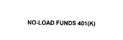 NO-LOAD FUNDS 401(K)