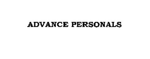 ADVANCE PERSONALS