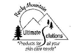 ROCKY MOUNTAIN ULTIMATE SOLUTIONS