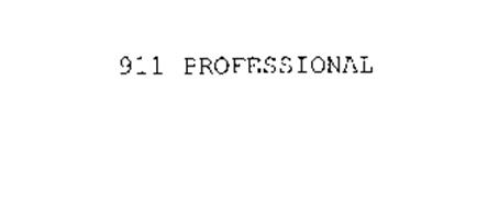 911 PROFESSIONAL