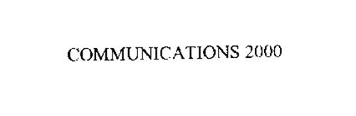 COMMUNICATIONS 2000
