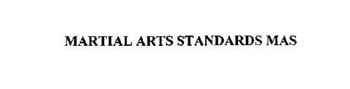 MARTIAL ARTS STANDARDS MAS