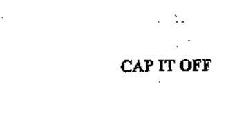 CAP IT OFF