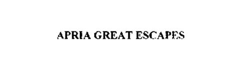APRIA GREAT ESCAPES