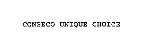 CONSECO UNIQUE CHOICE
