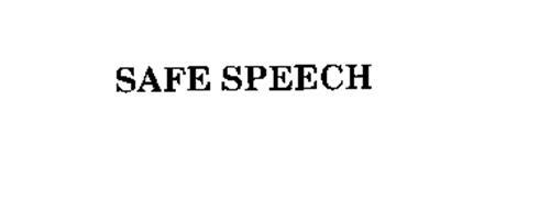 SAFE SPEECH