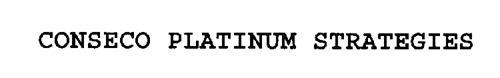 CONSECO PLATINUM STRATEGIES