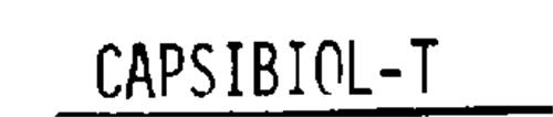 CAPSIBIOL-T