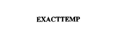 EXACTTEMP