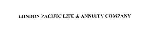 LONDON PACIFIC LIFE & ANNUITY COMPANY