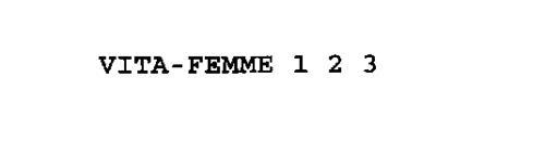 VITA-FEMME 1 2 3