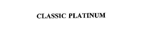 CLASSIC PLATINUM