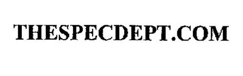THESPECDEPT.COM